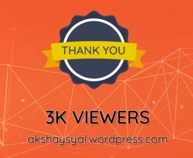 3K Viewers