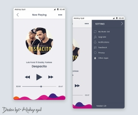 Offical Music Player UI