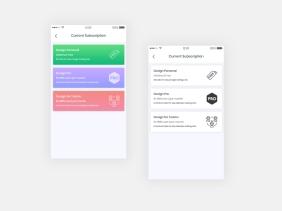 Pricing UI