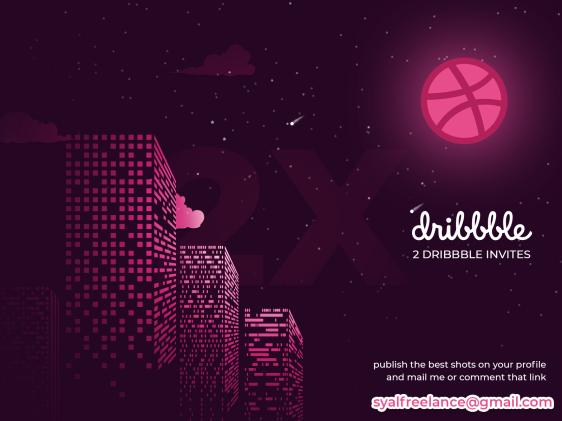2X Dribbble Invite