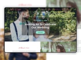 Realwedd Wedding Landing Page