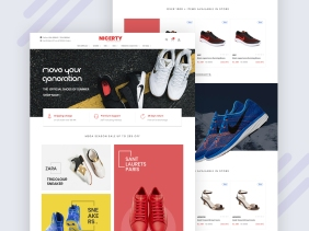 Nicerty Shoes Ecommerce